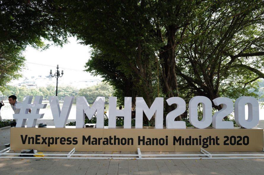 VnExpress Marathon Hanoi Midnight is ready to welcome runner