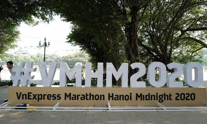 Hanoi night running tournament is ready before G