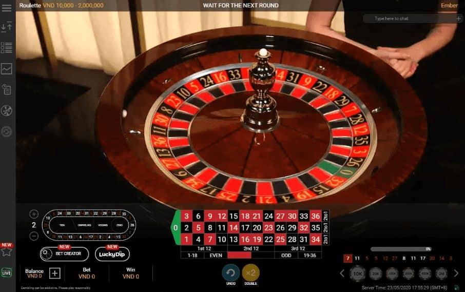 cách chơi roulette online trên 12bet