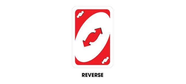 lá bài reverse cards trong game uno