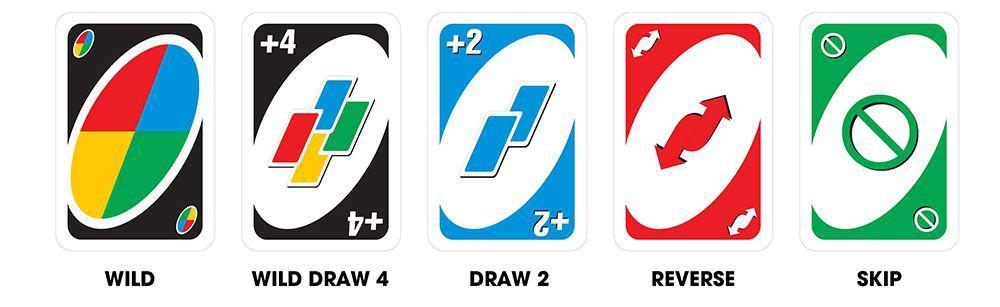 các lá bài đặc biệt trong game uno