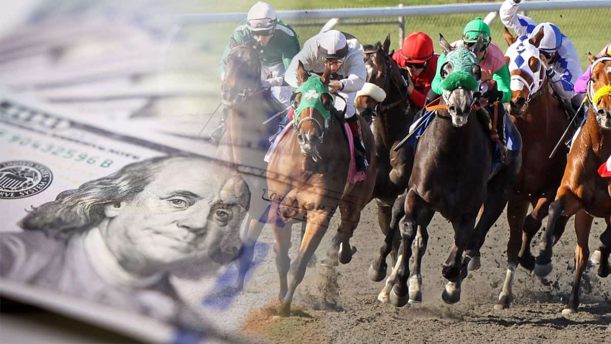 Horse racing betting to eat coins