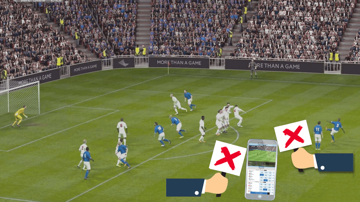 experience playing virtual soccer