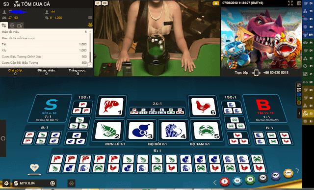 chơi game bầu cua cá cọp online 12bet
