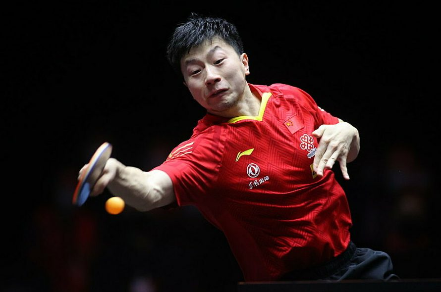 Ma Long won the 'UFC table tennis' champion