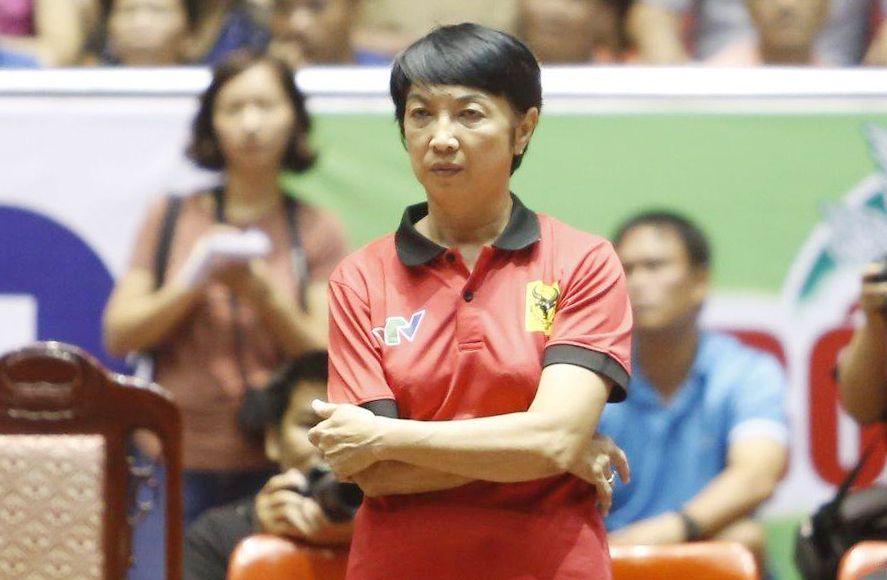 Long An women's volleyball replaced generals