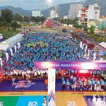 The VM Quy Nhon Run Prize printed its achievements on the Finisher shirt