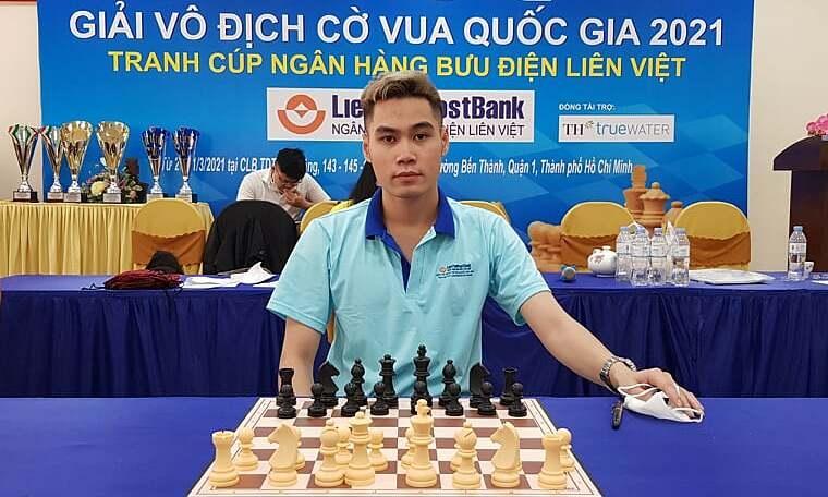 Tran Tuan Minh won the national chess championship