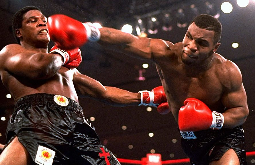 Mike Tyson brought karate to the ring