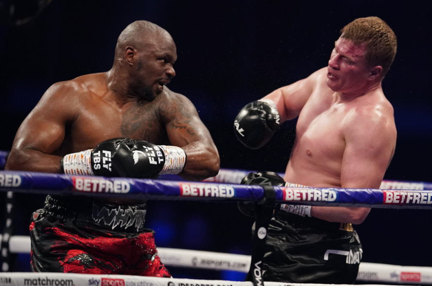 The boxer regrets exchanging expensive pants with his opponent