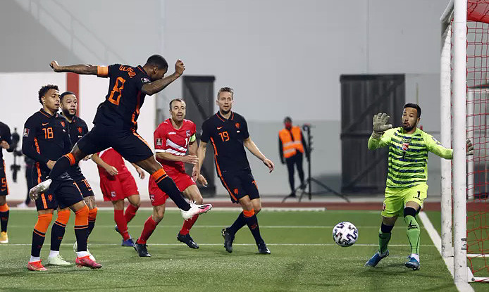 The Netherlands and Belgium poured rain on the table