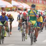 Tran Tuan Kiet won the seventh leg of the bicycle tournament through Vietnam