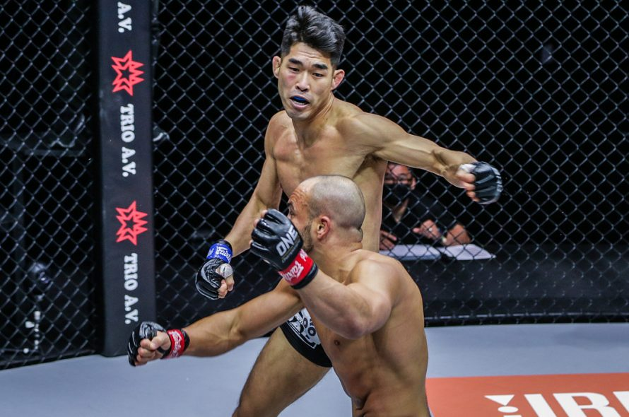 The Korean MMA fighter defeated the former world champion