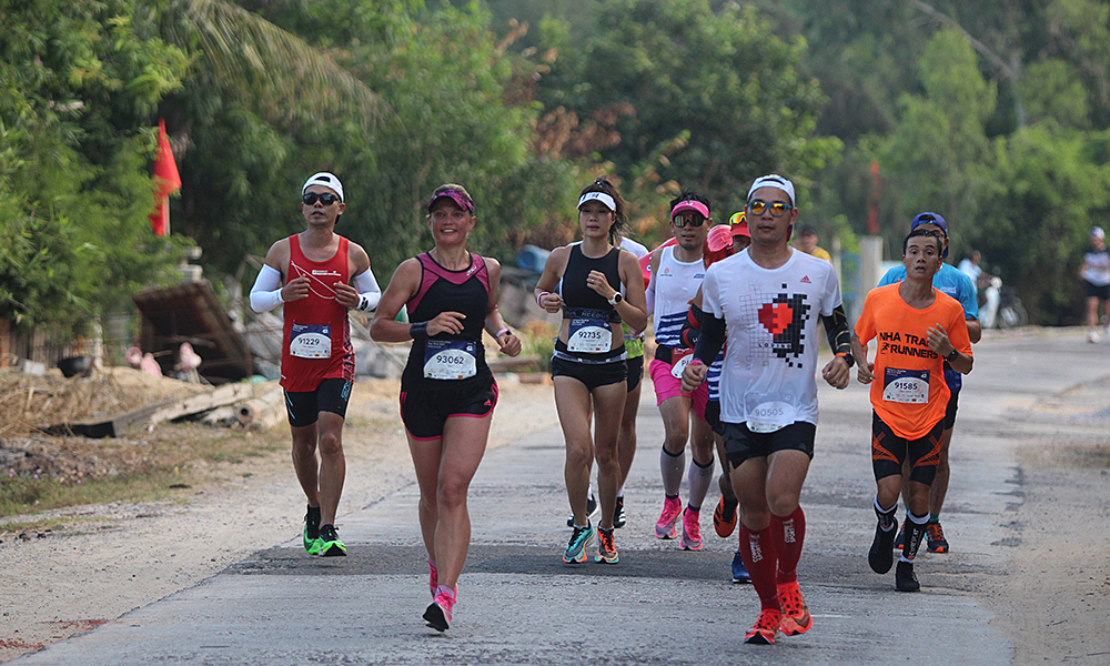 Quy Nhon 2021 marathon increased ticketing time