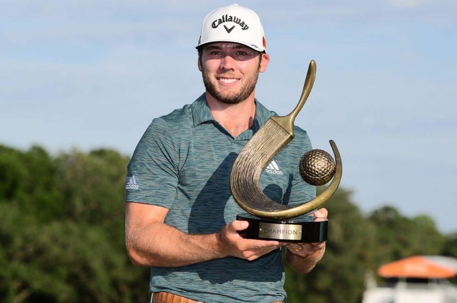 Sam Burns' metal-sharpening story at the PGA Tour