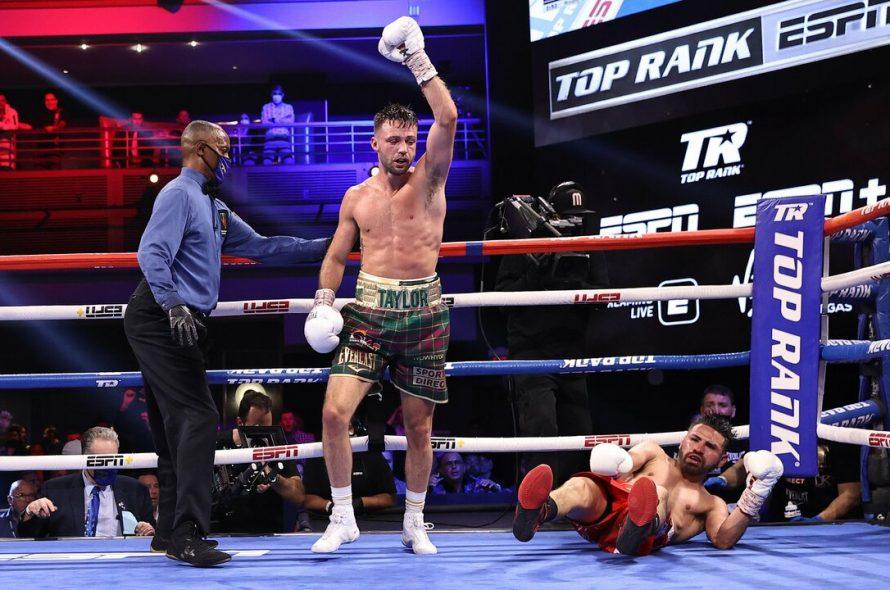 Boxer unifies four lightweight championship belts