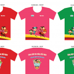 Baby running kit at Kun Marathon Quy Nhon