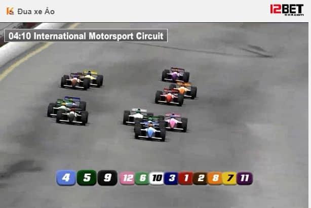 virtual online racing game