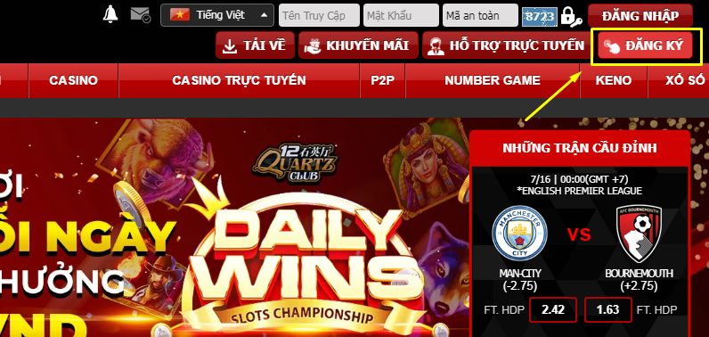 Register to play horse racing for coins at 12bet