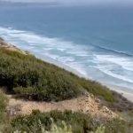 The 'fairy bath' beach under the US Open 2021 battlefield