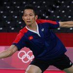 Tien Minh stops at the Tokyo Olympics