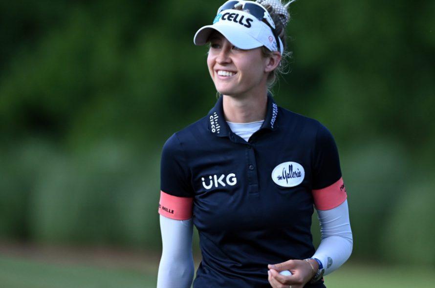 The world's number one female golfer loves games