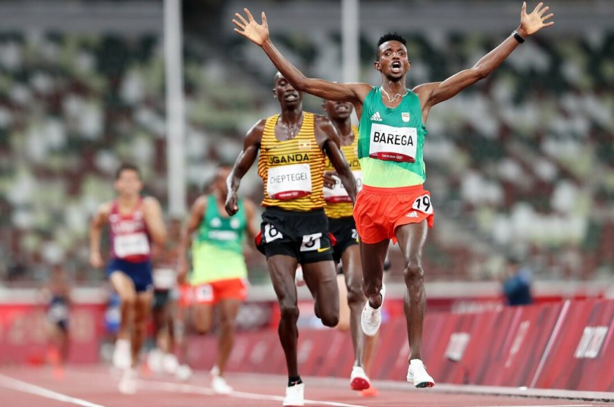 Ethiopian athlete wins first gold medal in athletics of Tokyo 2020