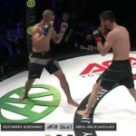 MMA fighter broke his arm when he was knocked down