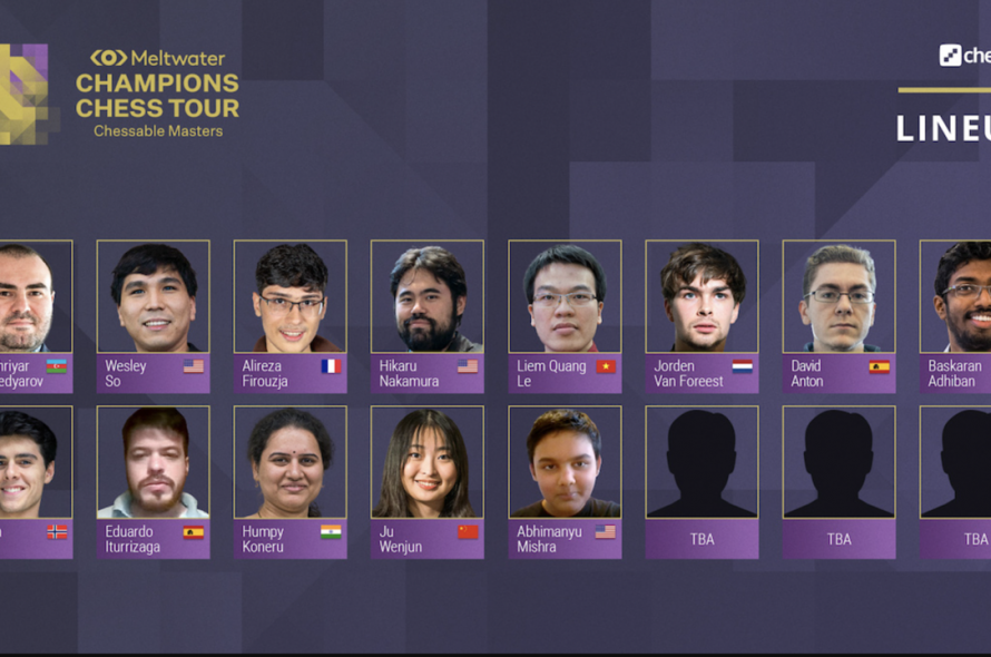 Quang Liem was again invited to the tournament of Chess King Carlsen