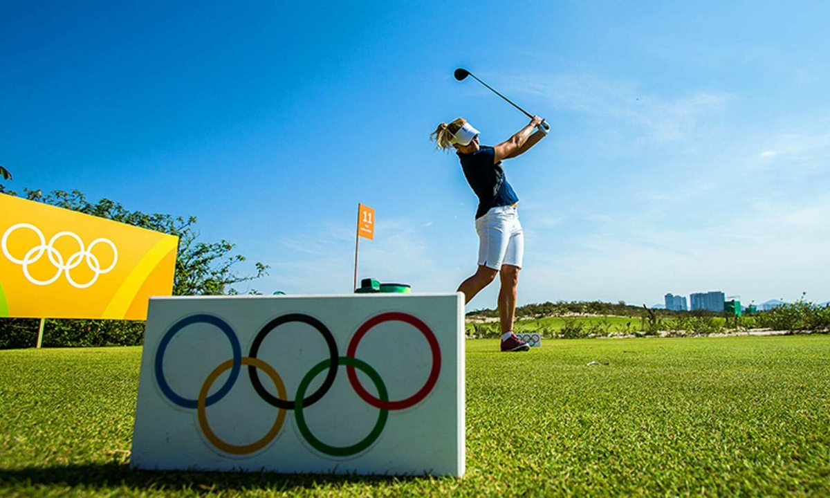 A journey across the century brings golf back to the Olympics