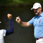 The marriage helped Slovakia win the Olympic golf silver medal