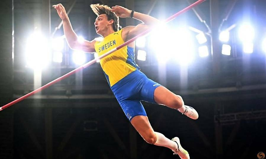 Duplantis again missed the world record by 1 centimeter