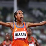 The last 400m ecstasy helped the Dutch athlete win the 5000m gold medal