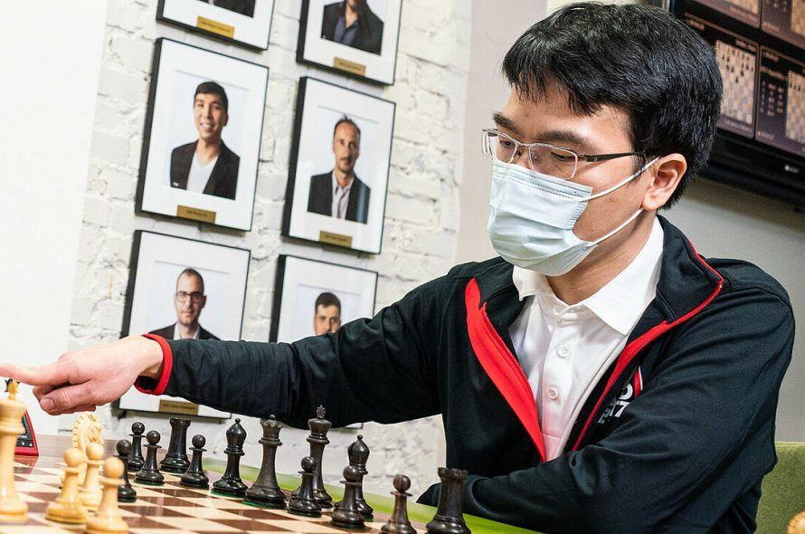 Quang Liem plunges in the Aimchess US super tournament